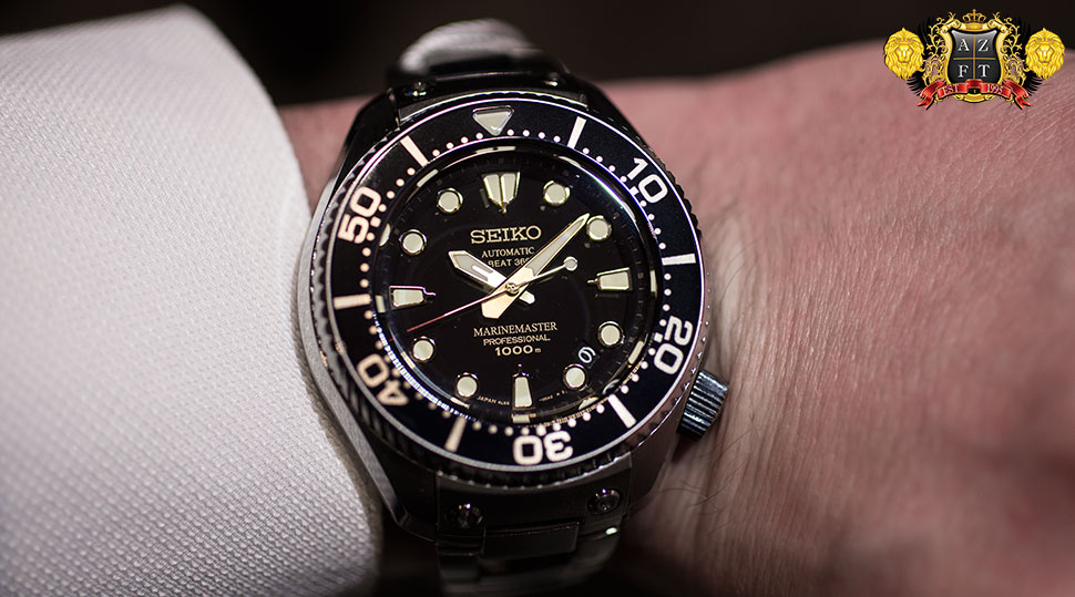 SEIKO PROSPEX MARINE MASTER 1000M HI-BEAT SBEX001 LIMITED EDITION: HANDS ON