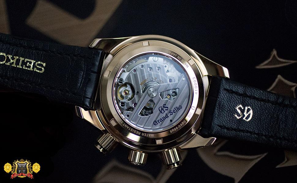 Grand Seiko Spring Drive Chronograph GMT 18k Pink Gold SBGC004