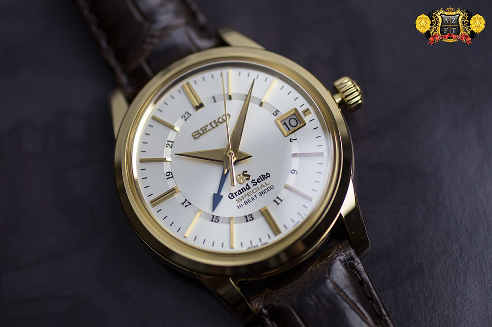 Grand Seiko Hi-Beat Special GMT 18k Yellow Gold SBGJ008