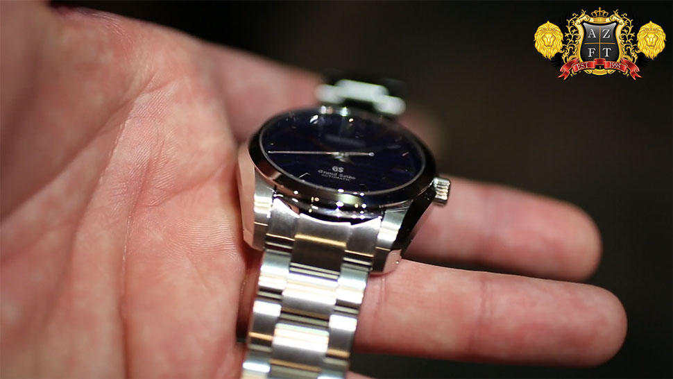 Grand Seiko 55th Anniversary Automatic Blue GS Dial Limited Edition SBGR097