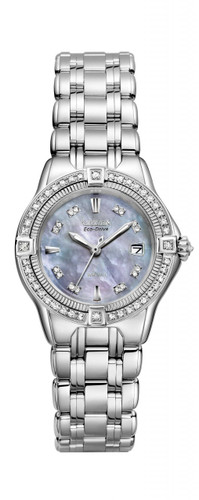 Citizen Signature Ladies Quattro Diamond - EW2060-54Y