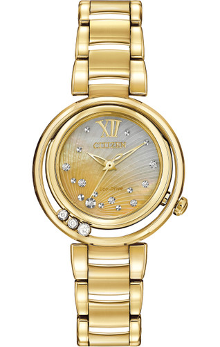 Citizen Ladies Eco-Drive L Series Sunrise EM0322-53Y