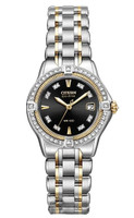Citizen Signature Ladies Quattro Diamond - EW2064-53E