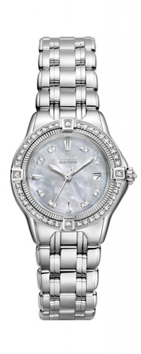 Citizen Signature Ladies Quattro Diamond - EW2060-54N