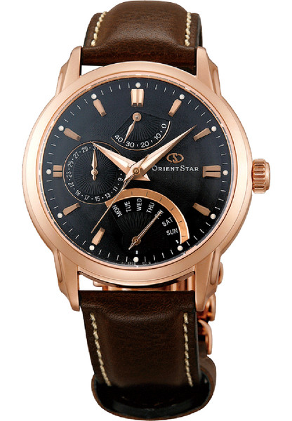 Orient Star Automatic Retrograde Rose Gold SDE00003B0