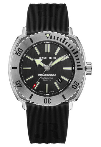 JeanRichard Aquascope Black Dial 60400-11A602-FK6A