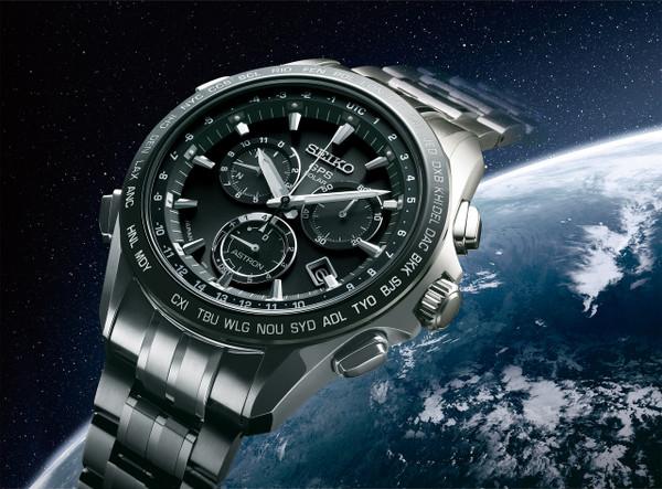 Seiko Astron GPS Solar Chronograph SSE003