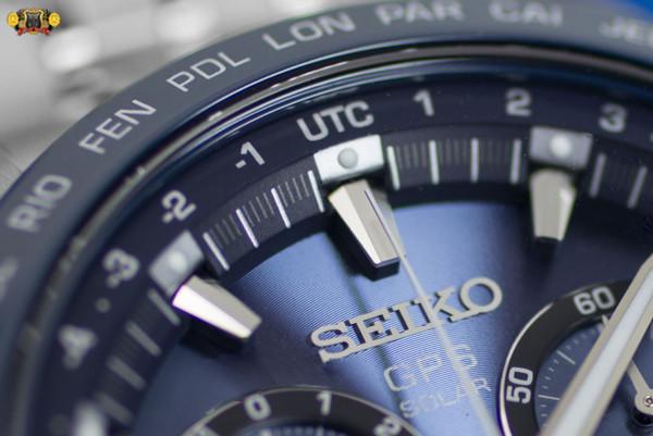 Seiko Astron GPS Solar Chronograph SSE005