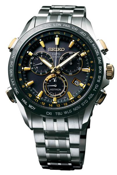 Seiko Astron GPS Solar Chronograph SSE007