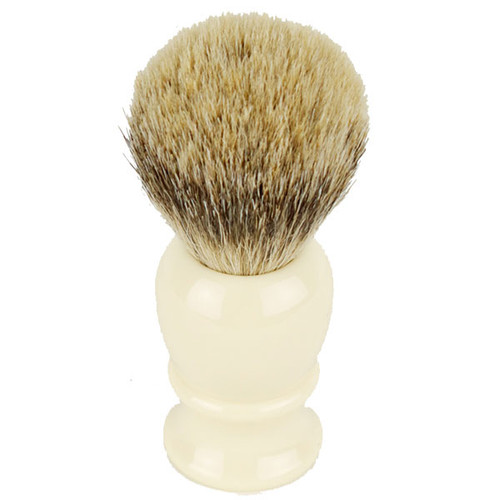 Hirsh Luxury Silvertip Badger Shaving Brush - Ivory (hl-sb15r)