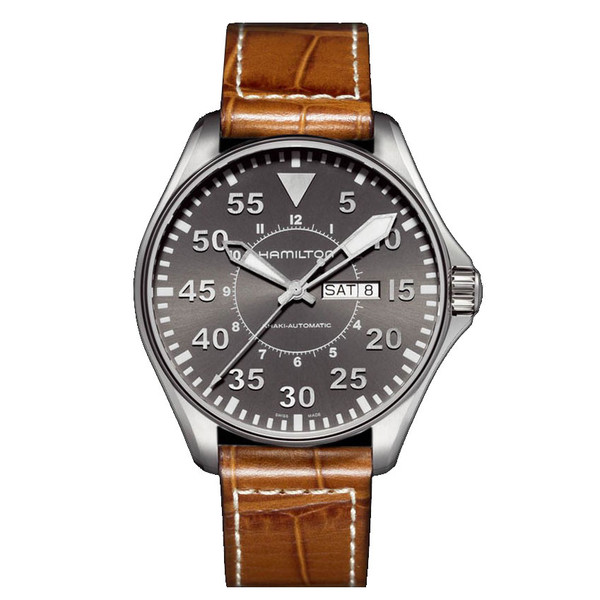 HAMILTON KHAKI AVIATION PILOT AUTO H64715885