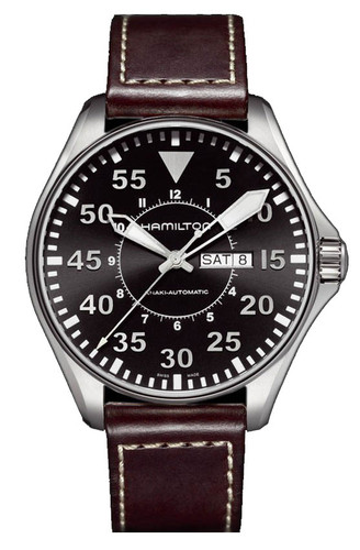 HAMILTON KHAKI AVIATION PILOT AUTO H64715535