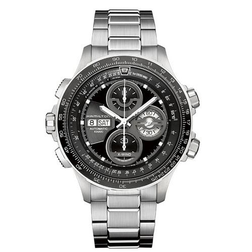 HAMILTON KHAKI AVIATION X-WIND AUTO CHRONO H77766131