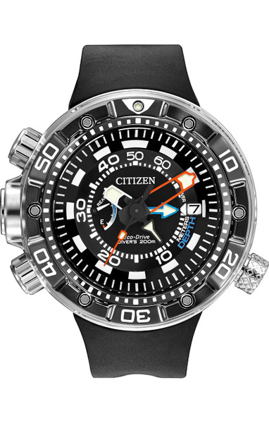 Citizen Eco-Drive Promaster Aqualand Depth Meter BN2029-01E