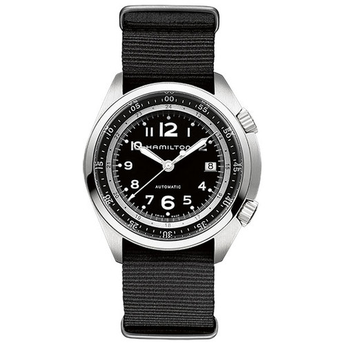 HAMILTON KHAKI AVIATION PILOT PIONEER AUTO H76455933