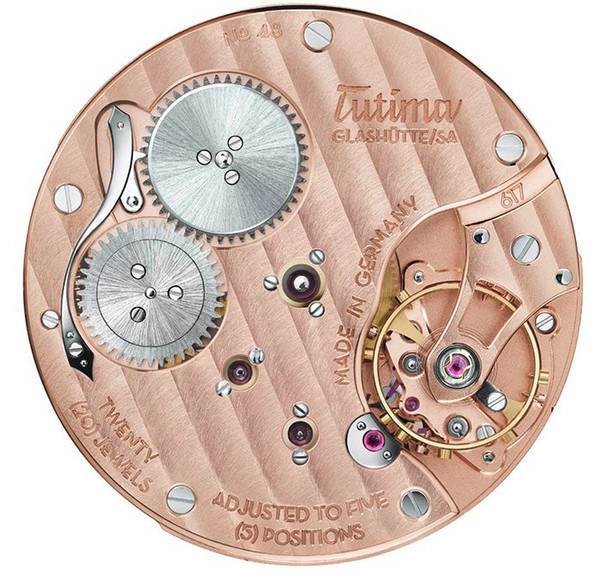 Tutima Glashutte Patria Small Second 6600-02