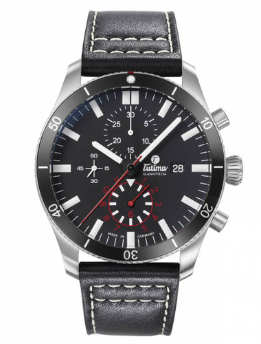 Tutima Glashutte Grand Flieger Airport Chronograph 6401-01