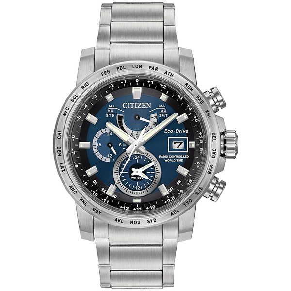 Citizen Eco-Drive A-T World Time AT9070-51L