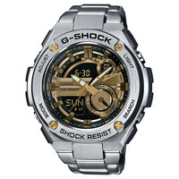 Casio G-Shock G-Steel 2nd Generation 3D Gold Dial GST210D-9ACR