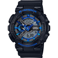 Casio G-Shock Ana-Digital XL Black & Blue