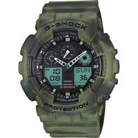 Casio G-Shock Ana-Digital 3 Eye Marble GA100MM-3A