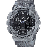 Casio G-Shock Ana-Digital 3 Eye Marble GA100MM-8A
