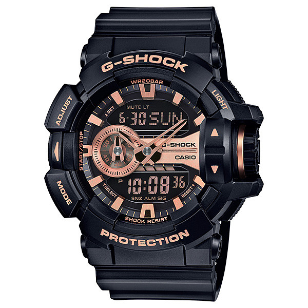 Casio G-Shock Rotary Metallica GA400GB-1A4CR