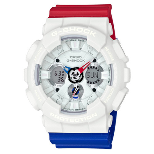 Casio G-Shock Ana-Digital TRICOLOR  GA120TRM-7ACR