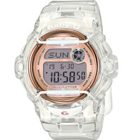 Casio Baby-G Whale Clear/Purple Digital  BG169G-7BCR
