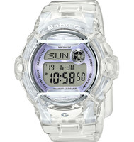 Casio Baby-G Whale Gray/Teal Digital BG169R-7ECR