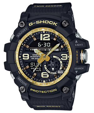 Casio G-Shock Mudmaster Twin Sensor GG1000GB-1ACR