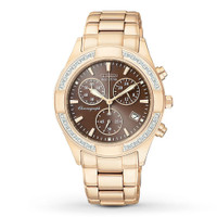Citizen Ladies Eco-Drive Regent 28 Diamond 60 Minute Chronograph FB1223-55X
