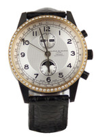 Maurice De Mauriac Men's Automatic Moonphase Diamond Bezel (1 of 1)