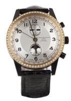 Maurice De Mauriac Men's Automatic Moonphase Diamond Bezel (1 of 1)