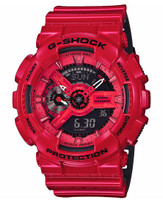 Casio G-Shock Perforated Band  ga110lpa-4acr