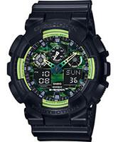 Casio G-Shock Ana-Digital 3 Eye Military GA100LY-1A
