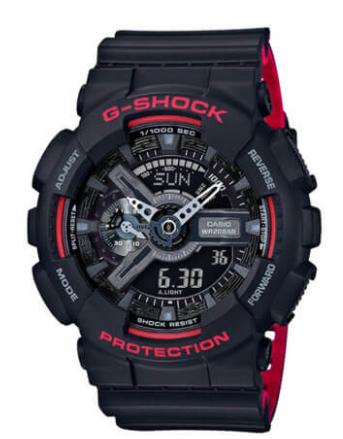 Casio G-Shock Ana-Digital XL GA110HR-1ACR