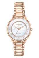 Citizen Ladies Eco-Drive L Series Sunrise EM0382-86D