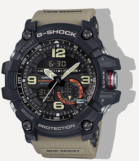 Casio G-Shock Mudmaster Twin Sensor GG1000-1A5