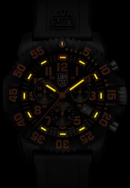 Luminox Evo Seal Chrono Orange 3089