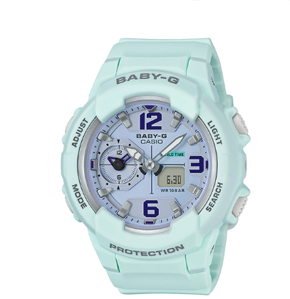 Casio G-Shock Baby-G Ana-Digital Duel Spring Collection BGA230SC-3B