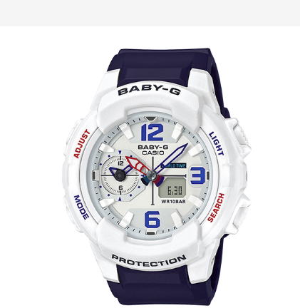 Casio G-Shock Baby-G Ana-Digital Duel Spring Collection BGA230SC-7B