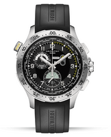 Hamilton KHAKI AVIATION WORLDTIMER CHRONO QUARTZ-H76714335