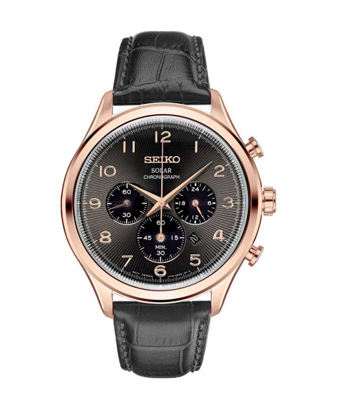 Seiko Men's Solar Chronograph SSC566
