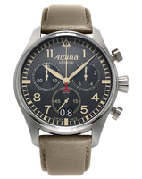 Alpina STARTIMER PILOT BIG DATE CAMOUFLAGE GREY AL-372BGR4S6