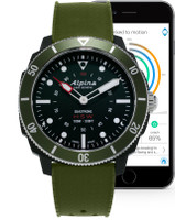 Alpina SEASTRONG HOROLOGICAL SMARTWATCH AL-282LBGR4V6
