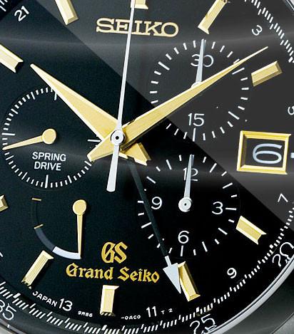 Grand Seiko Spring Drive Chronograph Titanium SBGC005