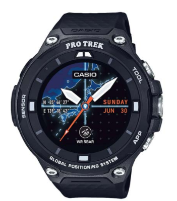 Pro Trek by Casio Smart Outdoor Watch WSDF20BK