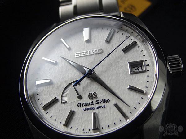 Grand Seiko Spring Drive Power Reserve Titanium Snowflake SBGA011
