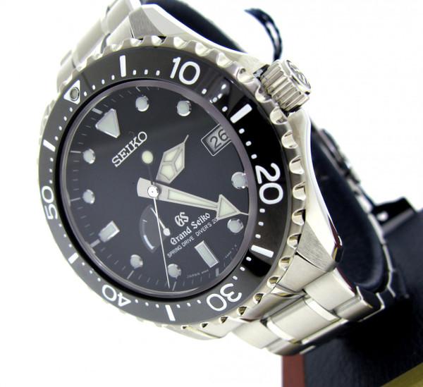 Grand Seiko Spring Drive Diver SBGA029